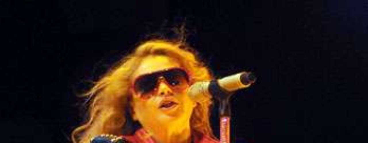 Paulina Rubio derrochó pasión, en un concierto llevado a cabo en los viñedos del Valle de Guadalupe, Ensenada, Baja California.