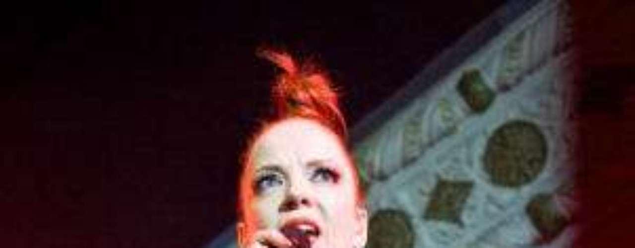 Shirley Manson es una de las más influyentes cantantes del rock surgido en la década de los noventa, y Garbage es en realidad su tercer proyecto musical.