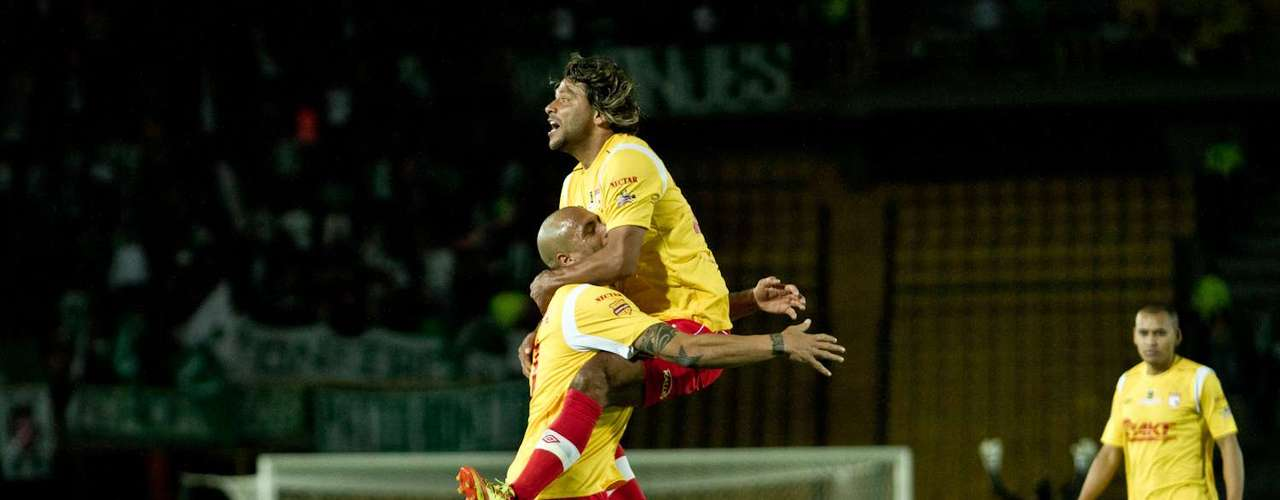 El gol fue el premio a uno de los mejores jugadores del partido.