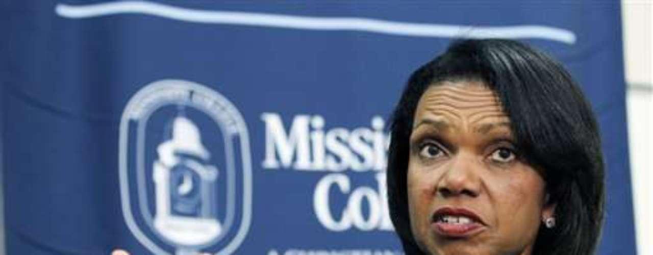 La exsecretaria de Estado Condoleezza Rice había sonado con fuerza en algún momento.