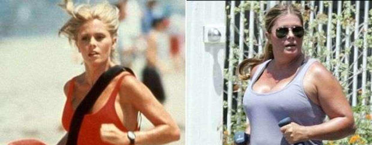 Nicolle Eggert, quien fuese conocida por el papel en la serie estadounidense 'Baywatch' en 1992, esta irreconocible. \