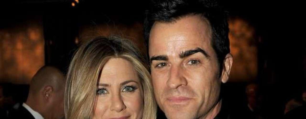 Justin Theroux - 2011. La cinta Wanderlust  fue la culpable de que Aniston se topara con este actor quien se convertirá en su futuro esposo. Luego de varias relaciones \
