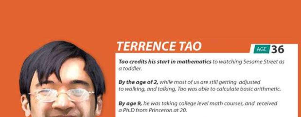 Terrence Tao tiene 36 años, pero con tan sólo dos, ya manejaba la aritmética básica. A los 9 ya iba a la universidad y a los 20 se recibió de doctor en física en Princeton. Su IQ es de 230.