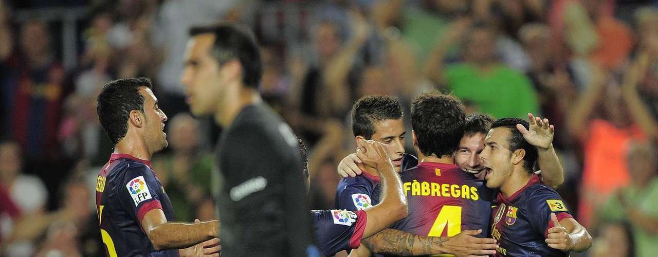 Fábregas y compañía demostraron que la presente temporada son candidatos a recuperar la corona que ostenta el Real Madrid.