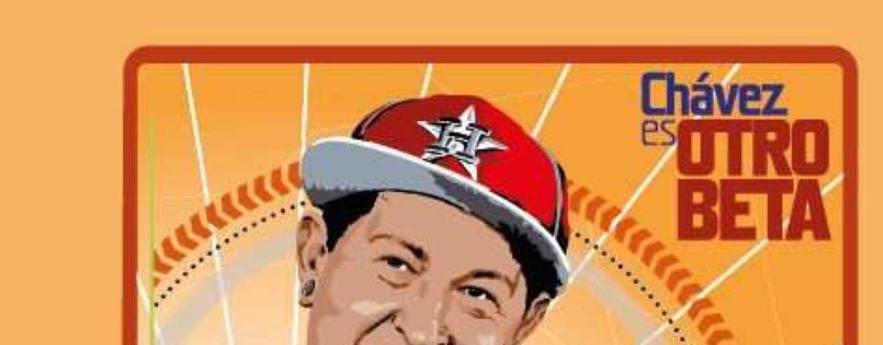 Con esta nueva imagen el presidente de Venezuela Hugo Chávez busca ganar los votos de la población juvenil a dos meses de la contienda electoral contra Henrrique Capriles.