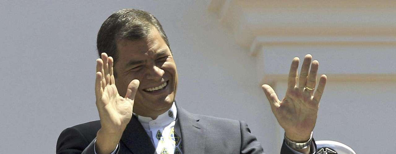 El presidente de Ecuador, Rafael Correa, afirma que se \