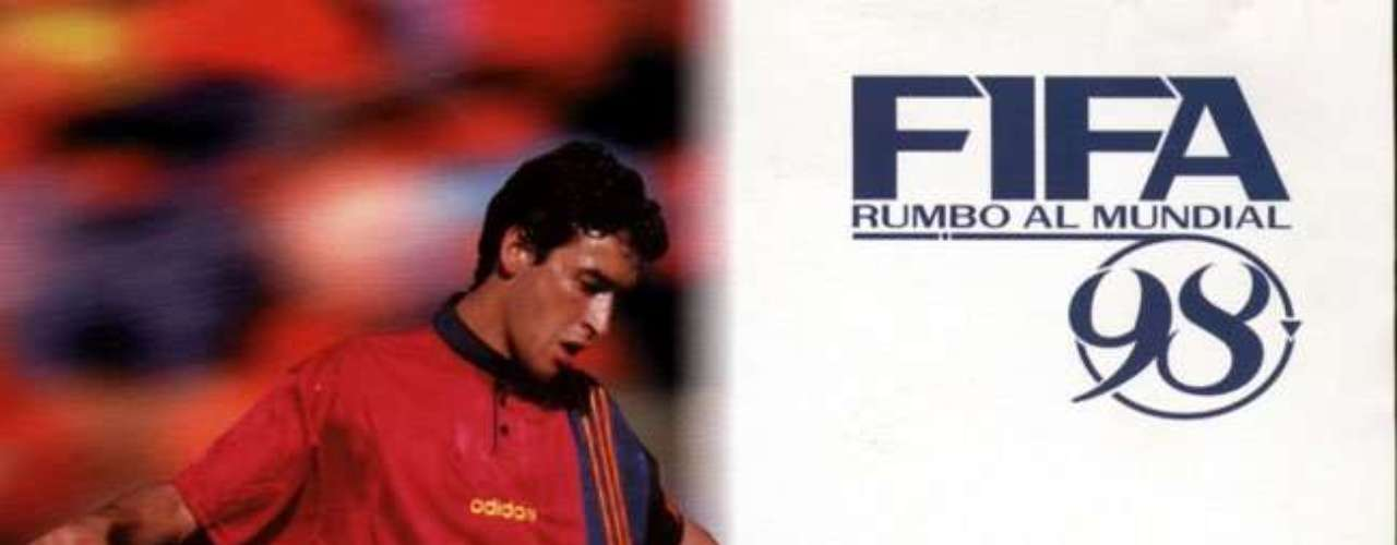 In 1997, Raúl was one of the protagonists, and others had David Beckham and Paolo Maldini on the cover.