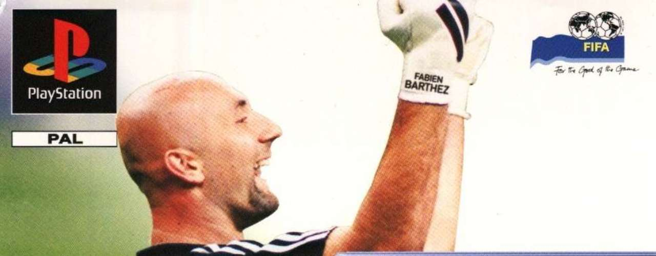 Goalkeeper Fabien Barthez was voted onto the 1998 cover, with Christian Vieri, Dennis Bergkamp and Fernando Morientes on the cover in their respective countries.