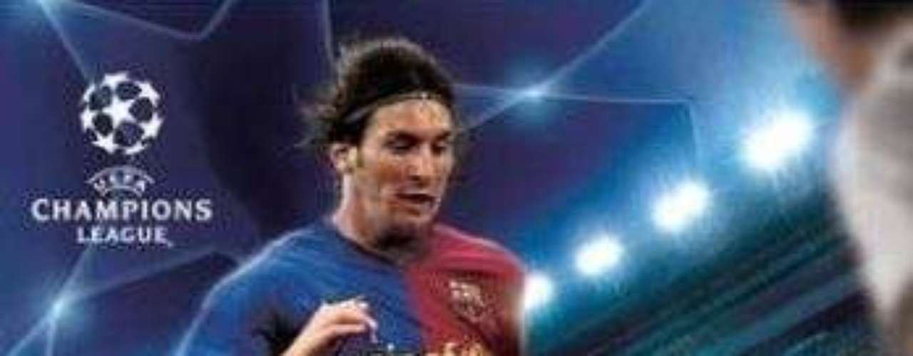 Lionel Messi replaced CR7 in PES 2009.