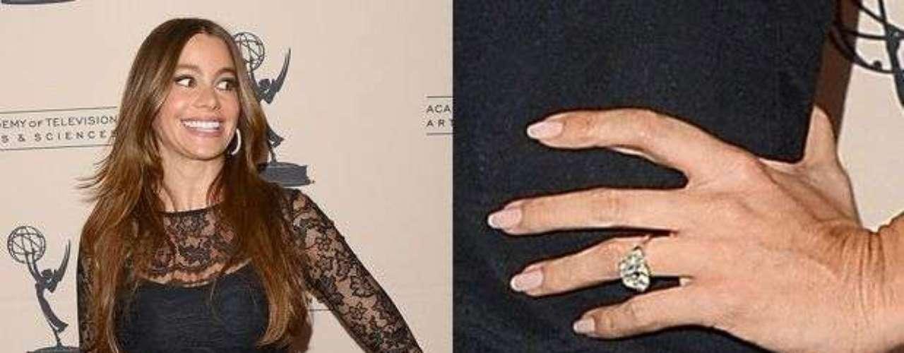 Sofía Vergara por fin recibió el anillo de compromiso por parte de su novio Nick Loeb. Mientras festejaba su cumpleaños 40 en México, Sofía dio el sí a Loeb.