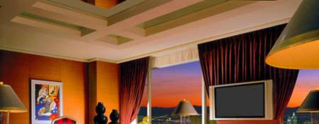 La juerga y el desnudo que publica la web americana TMZ.com tuvo lugar en el famoso hotel Wynn de Las Vegas.