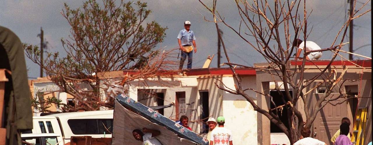 Las muertes provocadas por el huracán aún quedan en la memoria de la gente. En Estados Unidos murieron 23 personas y tres más en las Bahamas.