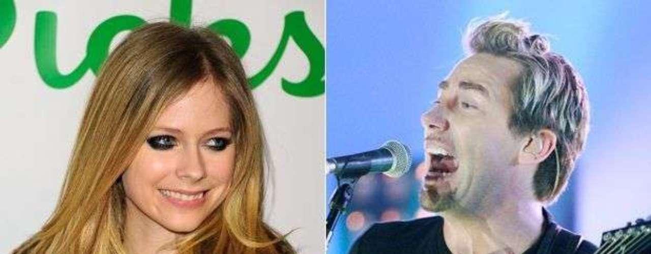 5. Avril Lavigne y Chad Kroeger (Nickelback). Los canadienses han vendido en total 34.3 millones de copias de sus discos.