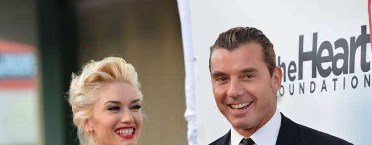 6. Gwen Stefani y Gavin Rossdale. La vocalista de No Doubt y el frontman de Bush se casaron en 2002 luego de siete años de noviazgo. Ambos han vendido 32.7 millones de álbumes.
