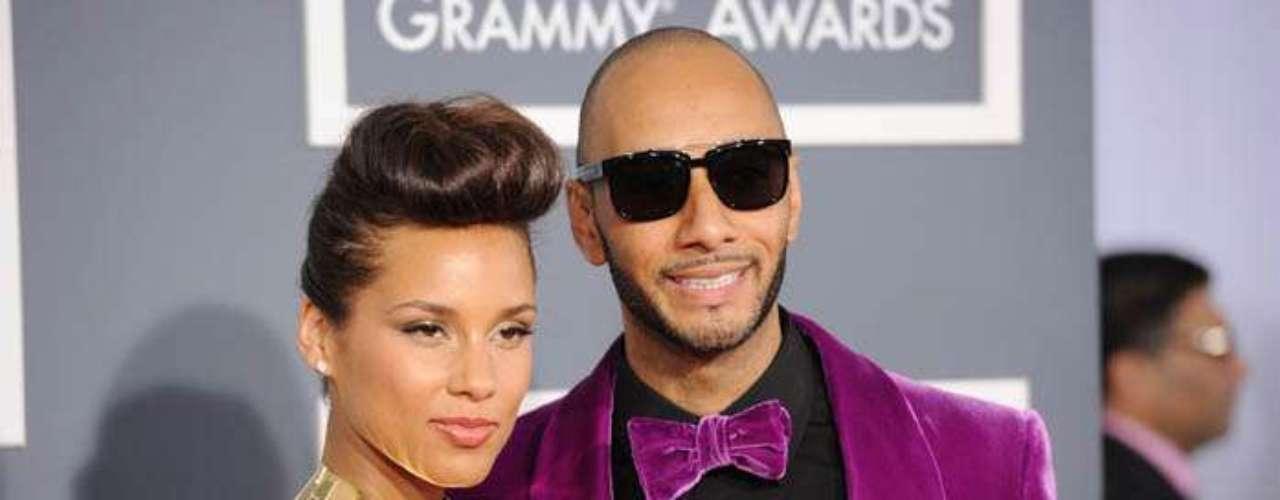 7. Alicia Keys y Swizz Beatz. La cantante de R&B y el productor musical de raperos se casaron en 2010. Los dos suman 17.3 millones de álbumes vendidos, que corresponden en su mayor porcentaje a las ventas de los discos de Keys.