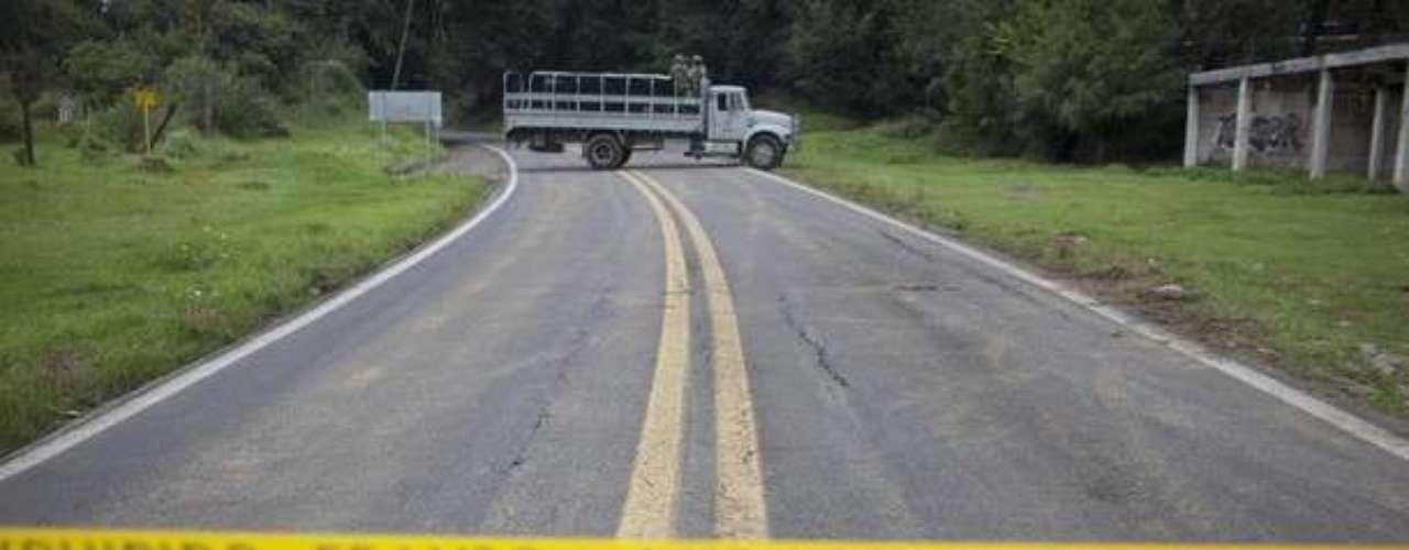 La carretera fue cerrada por varias horas, mientras las investigaciones seguían su curso