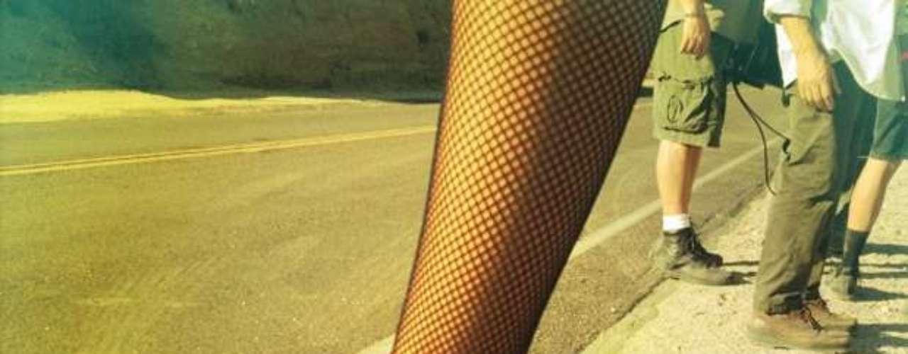 Usando su cuenta en Twitter, Aguilera compartió imágenes de parte del \