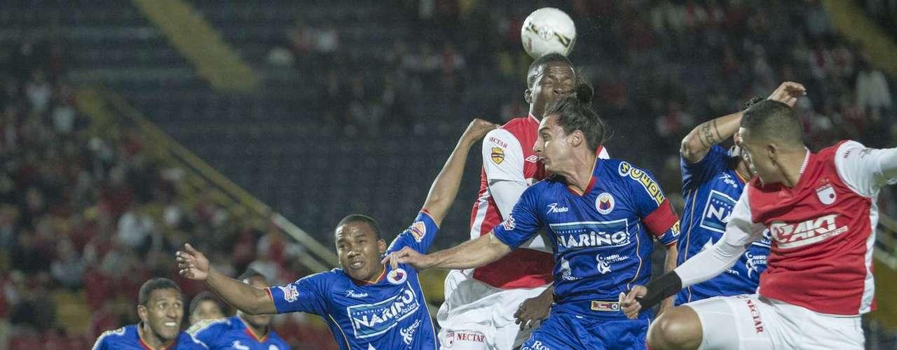 El partido fue fuertemente disputado por dos equipos que buscaron siempre la victoria, pero ésta terminó siendo logrado por Independiente Santa Fe.
