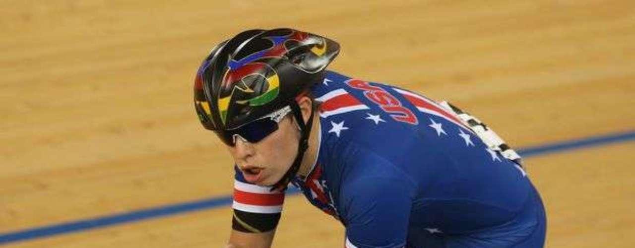 Allison Jones, de Estados Unidos, obtuvo la medalla de bronce en la final femenina de la categoría C1-2-3 en Londres.