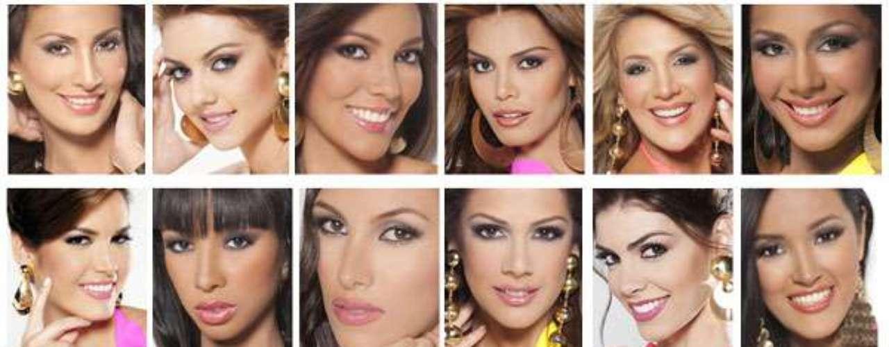 Ellas son las 24 sensuales candidatas que lucharan con todo para conseguir el preciado galardón del segundo país con más coronas en la historia del certamen de Miss Unvierso. ¿Quién logrará la representación de Venezuela en Miss Universo el año entrante?