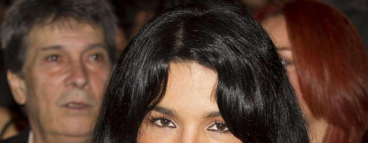 La originaria de Aguascalientes estuvo presente, junto a todo el elenco de '¡Qué Bonito Amor!', en la misa que se ofreció por el inicio de las grabaciones de la telenovela.