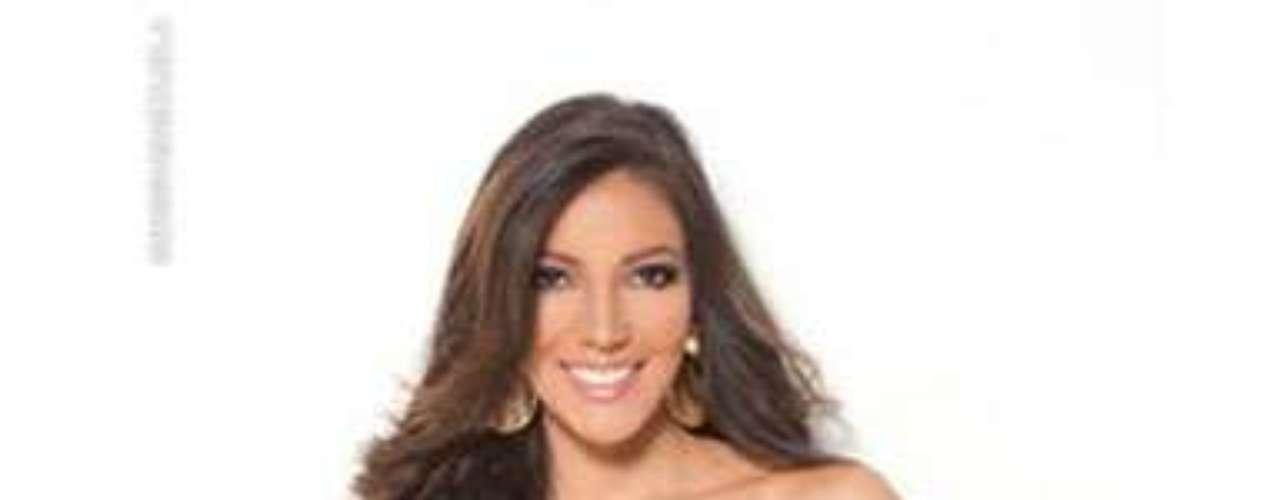Miss Apure. Ella es Mariana Romero, tiene 21 años de edad, mide 1.76 mestros de estatura y estudia noveno semestre de Publicidad.