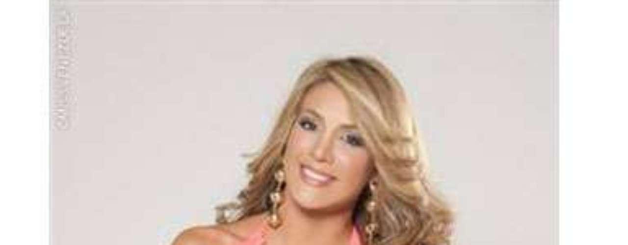 Miss Barinas.Ella es María Teresa Solano, tiene 21 años de edad, mide 1.75 metros de estatura y estudia tercer semestre de Comunicación Social