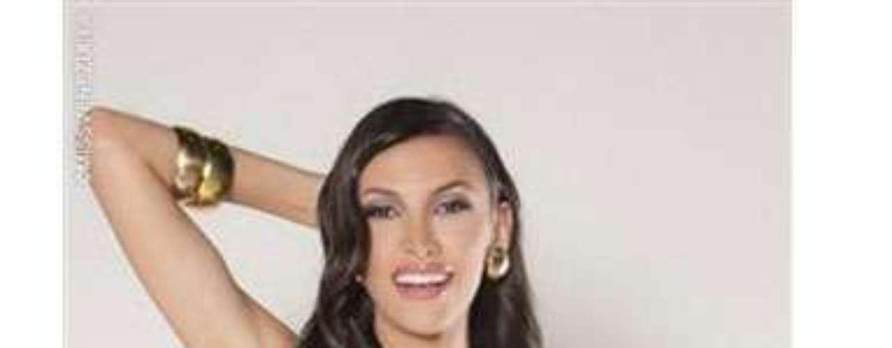Miss Distrito Capital. Ella es Daniela Chalbaud, tiene 21 años de edad mide 1.78 metros de estatura y es Licenciada en Idiomas.
