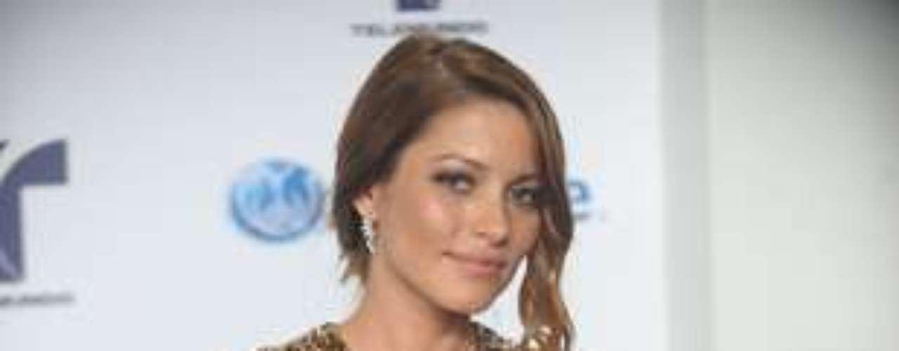 Adriana Fonseca, protagonista de la telenovela \