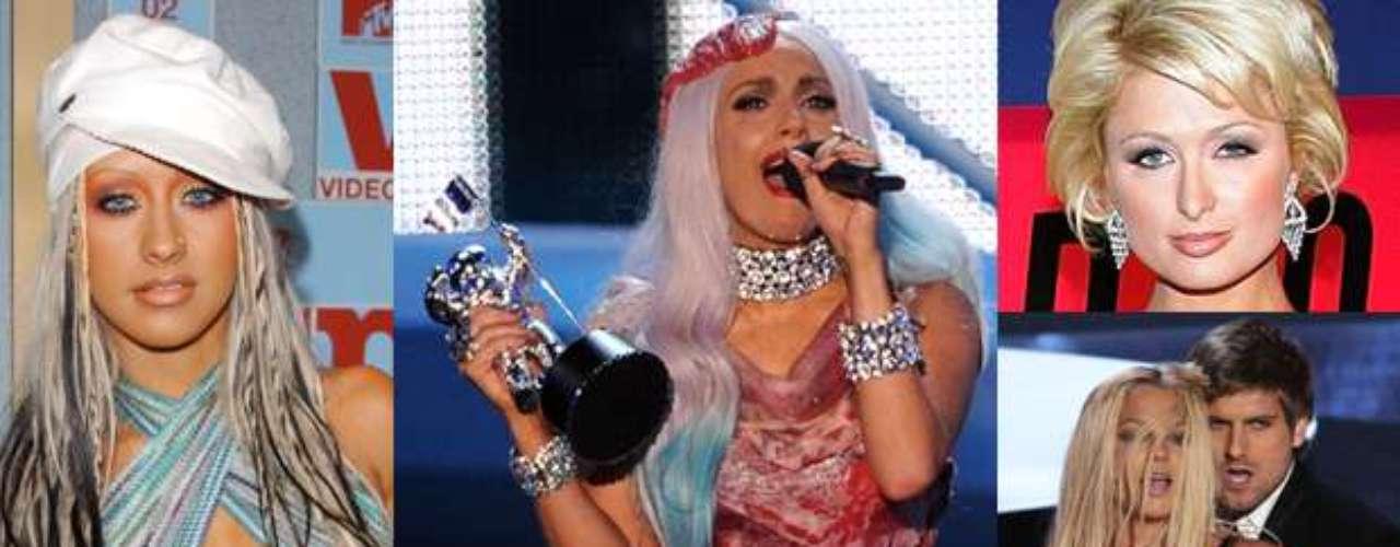 Los MTV Video Music Awards siempre son sinónimo de diversión y más que nada es donde los cantantes no tratan de impresionar a nadie y lucen atuendos un poco 'llamativos'. ¡A continuación, un repaso de los look más llamativos y extravagantes de los MTV Video Music Awards!