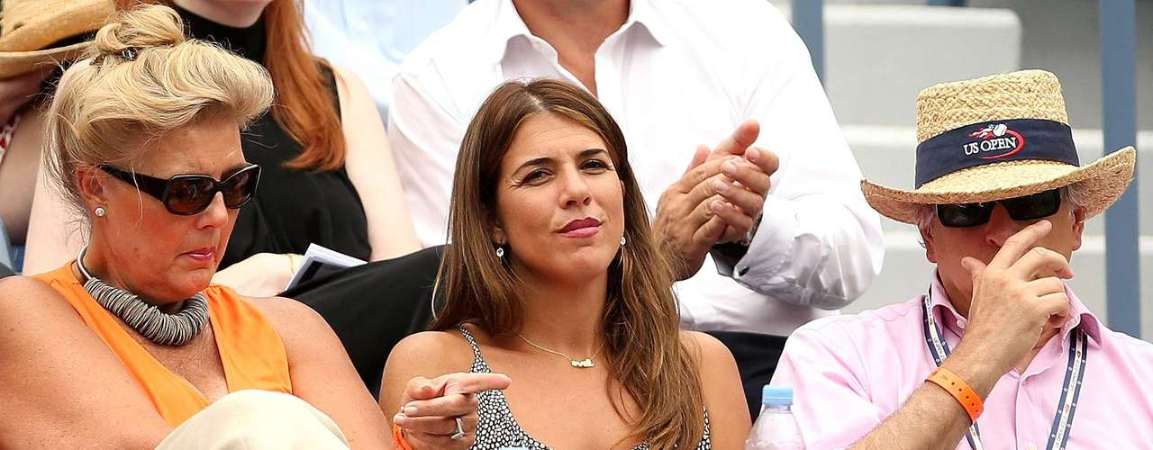 But it wasn't just the players who attracted attention at the tournament, as e-player and Tennis Hall-of-Famer Jennifer Capriati didn't lose a minute watching the action.