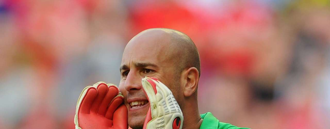 Despite a couple of botched outings with Liverpool of late, Pepe Reina continues to be one of the strongest keepers in the Premier League, though the teams weak defense (which has allowed seven goals in three matches) has done nothing to help him out.