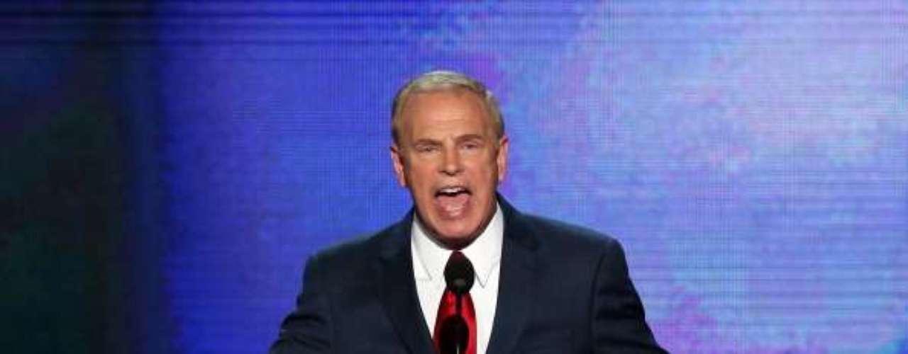 Ted Strickland, gobernador de Ohio, fue uno de los que atacó con más dureza a Mitt Romney. \