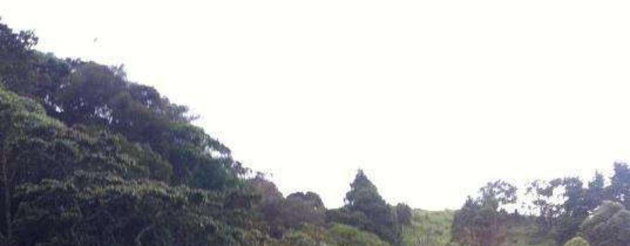 Daño en una carretera de Costa Rica