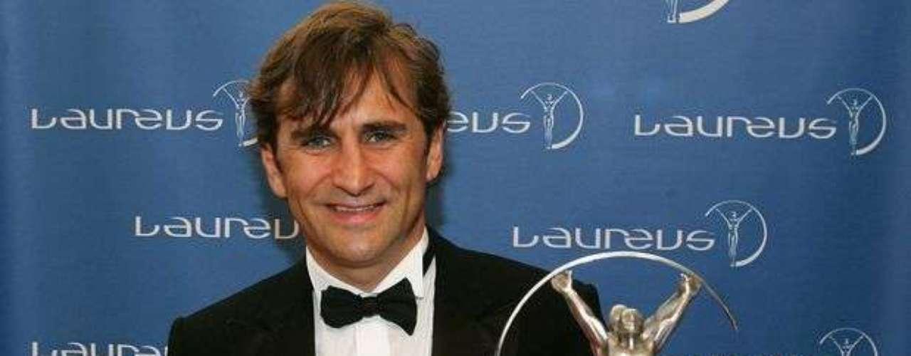 En 2005, Zanardi recibió el Laureus, premiación más importante del deporte, en la categoría \