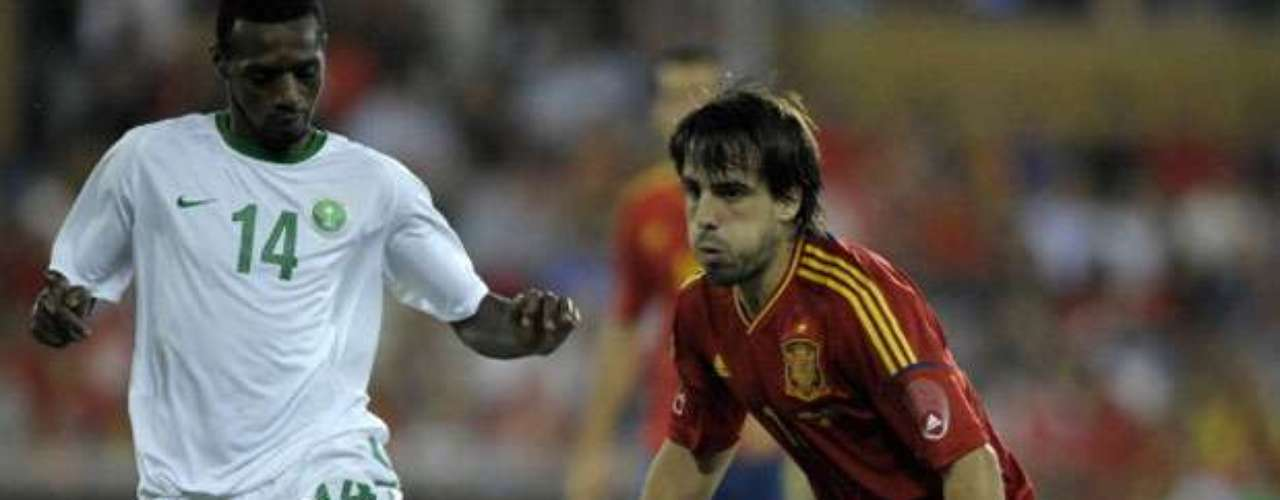 Spain played with a B-team in its friendly match against Saudi Arabia.
