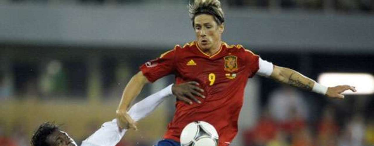 Fernando Torres was one of the few 1st team players to participate.