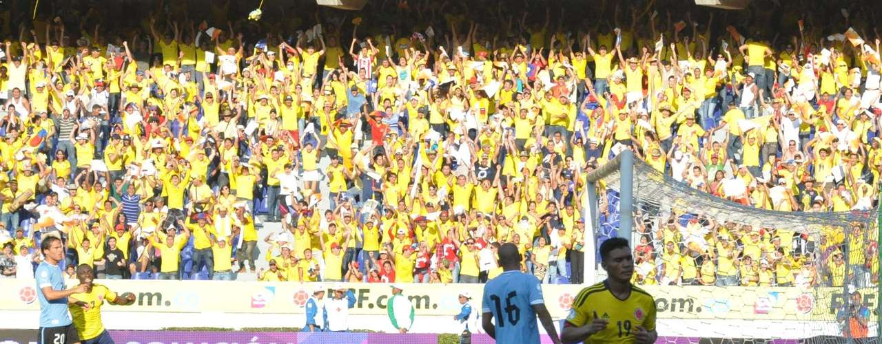 Gutiérrez celebró su regresó a las redes con la Selección Colombia.