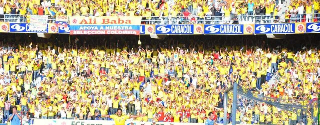 Fue el tercer gol, que ya le daba tranquilidad al cuadro colombiano, aunque aún faltaba mucho por jugar.
