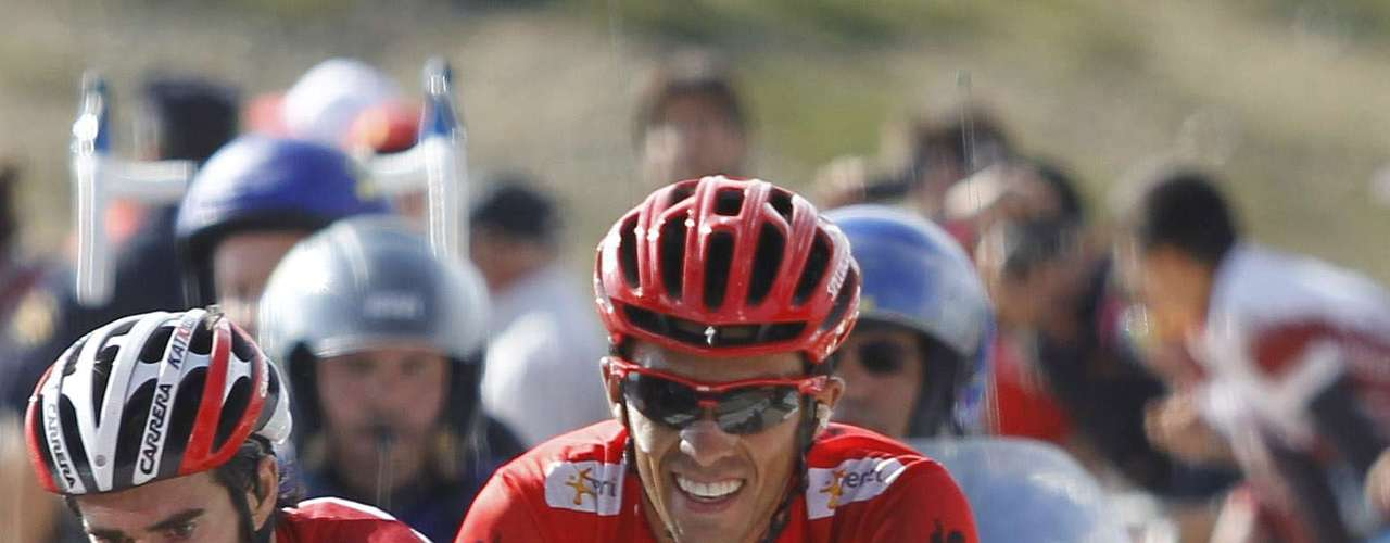 Alberto Contador is looking for his first major victory since his doping ban.