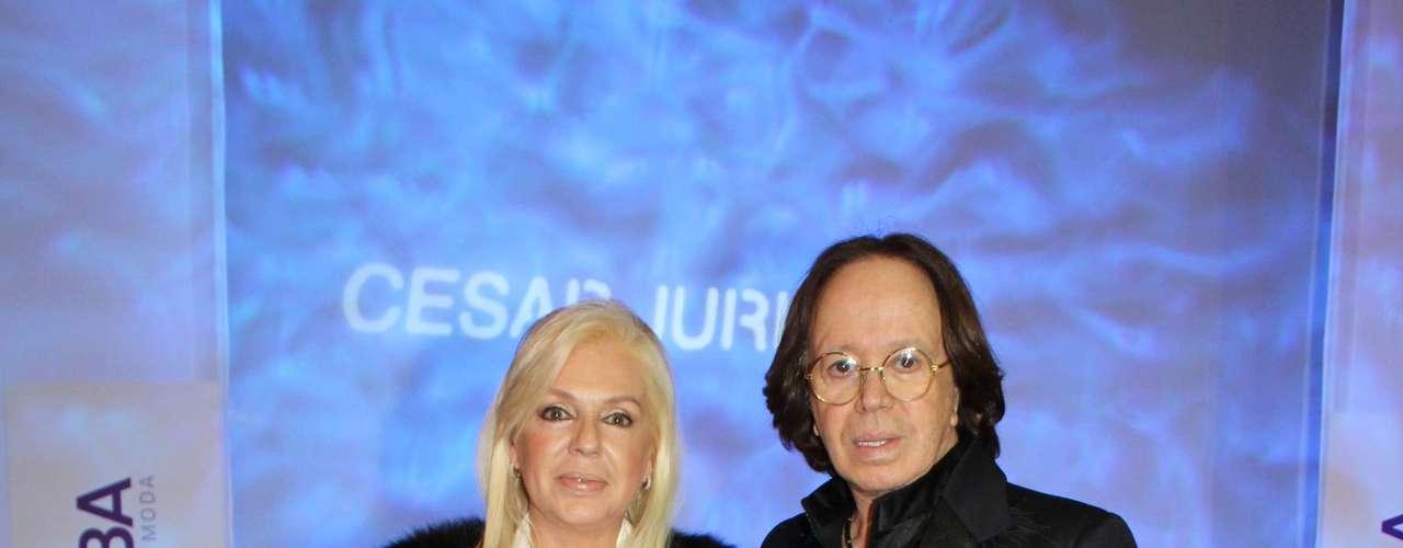 El estilista Miguel Romano con la doctora Diana Chugri también dijeron presente