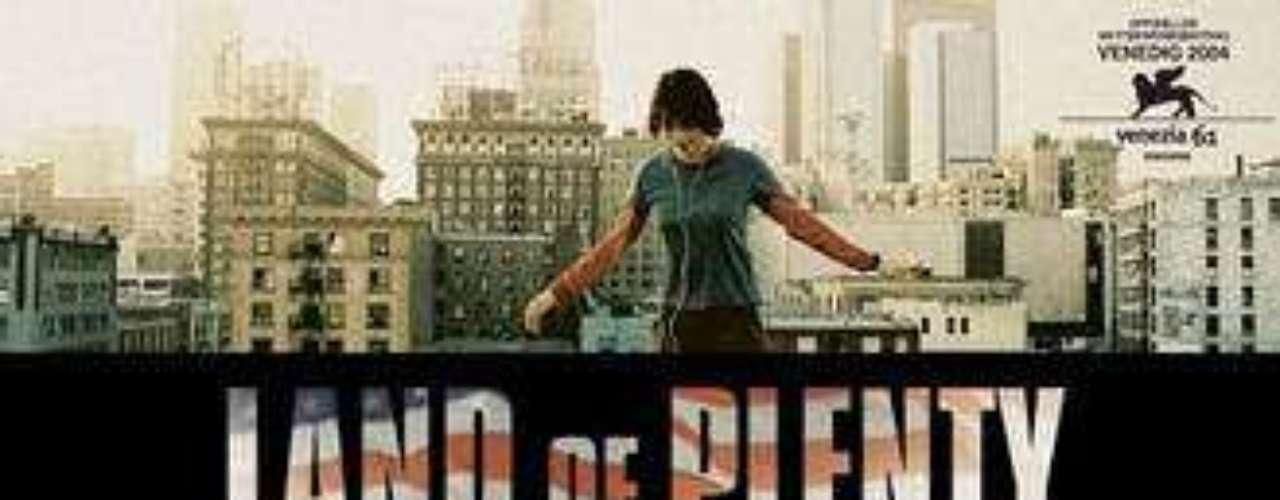 Tierra de abundancia (2005). Película alemana-estadounidense.