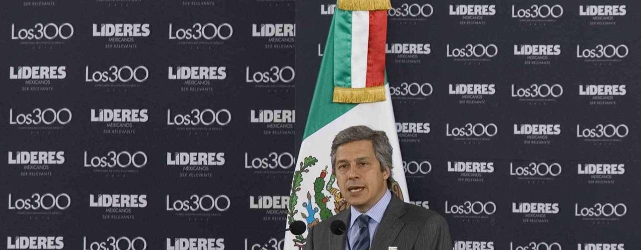 Claudio X. González Guajardo, Presidente de Mexicanos Primero.