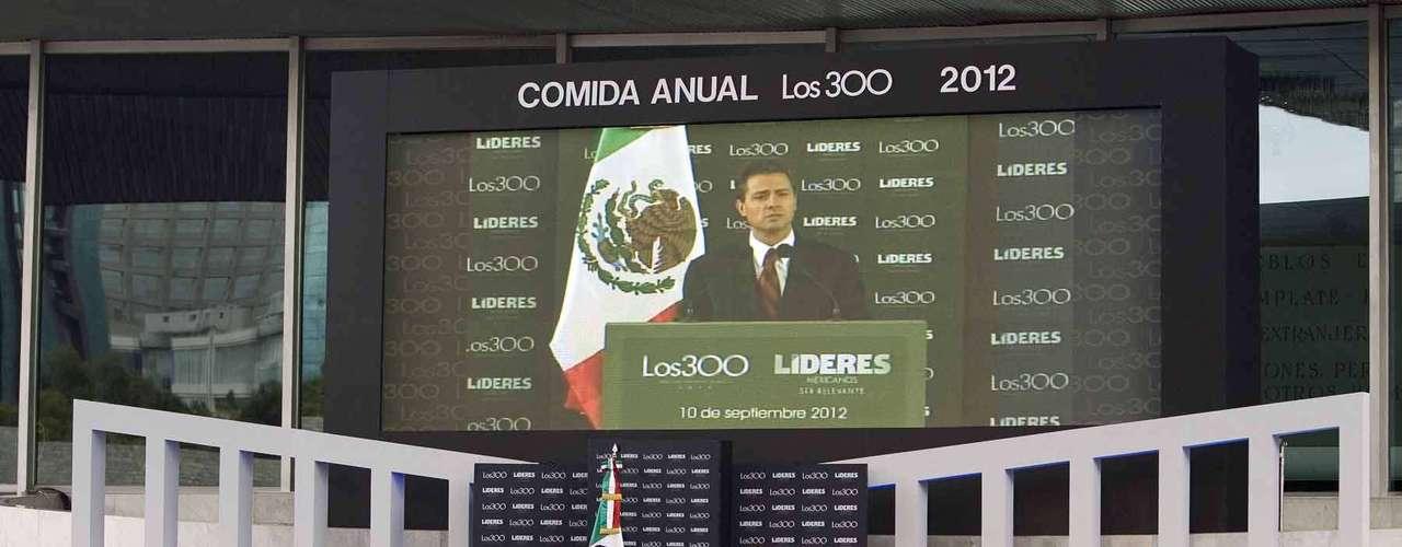 Peña Nieto se comprometió con ellos a alcanzar los objetivos que le fueron planteados y aseguro que sabe que el \