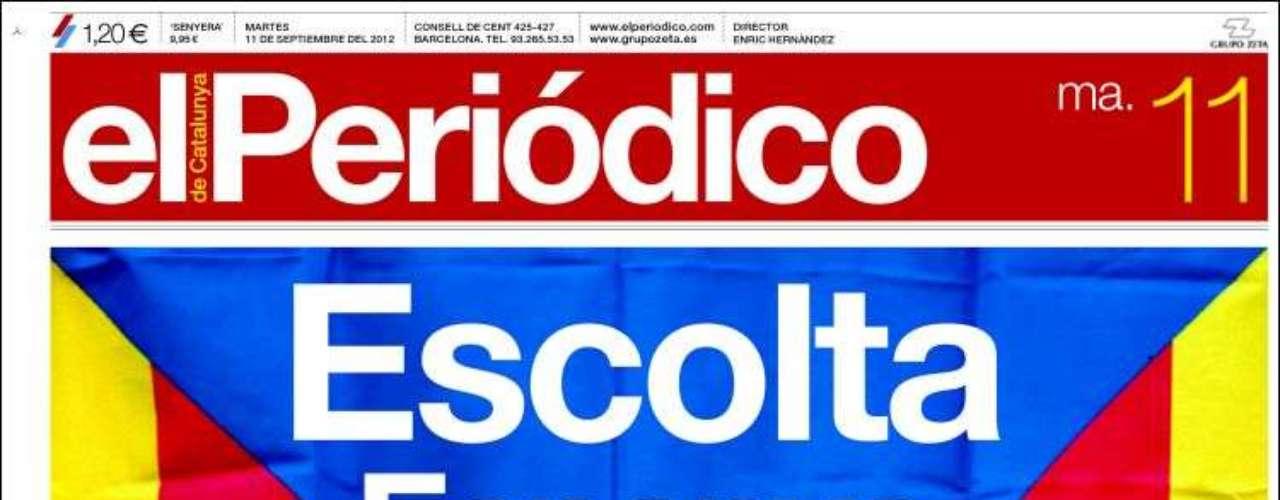 Desigual trato a la entrevista a Rajoy en la prensa, que se centra en sus palabras sobre los recortes o sobre política penitenciaria con la prensa vasca. En la catalana y algunos medios conservadores Rajoy compite con la Diada catalana