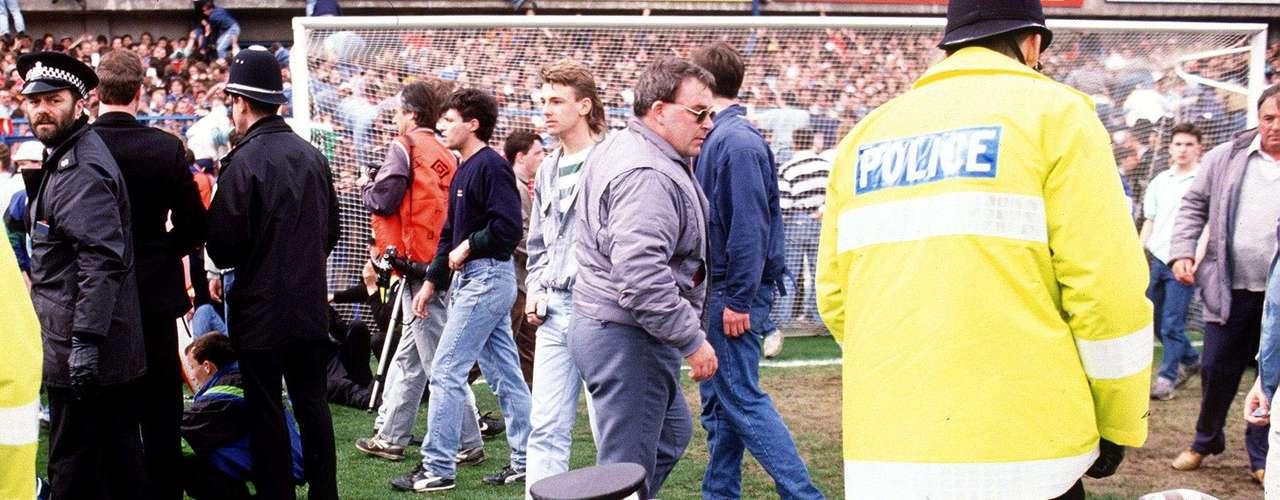 Todo sucedió en la tribuna oeste del estadio, conocida como Leppings Lane.