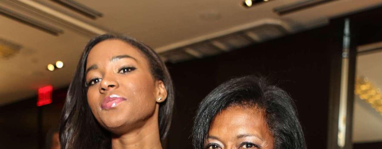 Es así como la espectacular morena africana de 26 años, se ha hecho presente para conocer las últimas tendencias de la moda de la mano de los más afamados artistas, en el Style360 y el desfile de Laura Smalls.