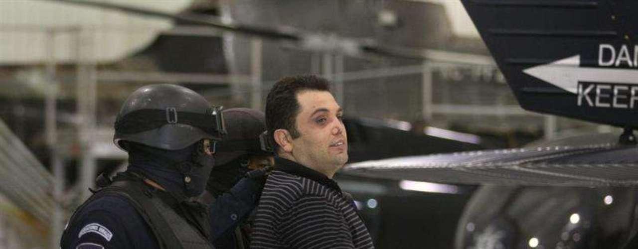 Pozos González fue detenido por la Policía Federal el martes11 de septiembre de 2012 en el municipio mexiquense de Metepec.