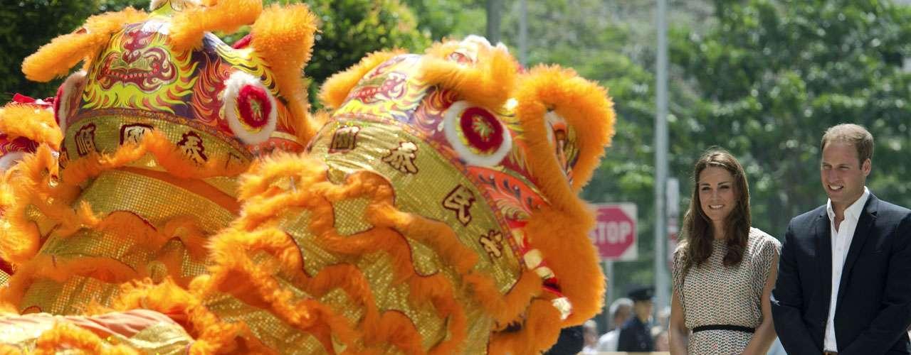 En el mismo barrio de Queenstown se dirigieron a una ceremonia familiar. La visita de ambos a Singapur es la primer escala de la gira oficial por el Sudeste Asiático y el Pacífico Sur.