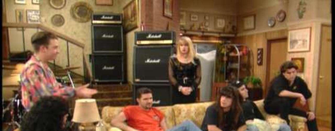 Anthrax en la sitcom \